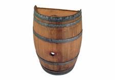 Finished Half Wine Barrel